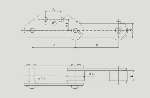 取料机直板链条 取料机直板链条厂商