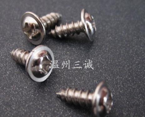 不锈钢半圆十字螺丝不锈钢十字带垫螺丝不锈钢圆头螺丝