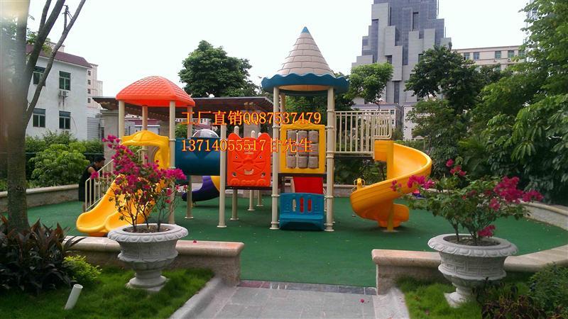 深圳小区幼儿园滑梯,儿童塑料玩具滑梯,小区儿童游乐设施