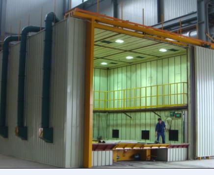 喷砂设备-供应山东风电塔筒喷砂房-中华机械网