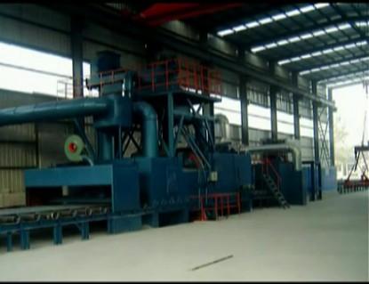 Q6930自动传送式钢板抛丸机厂家