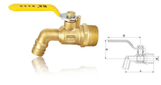 黄铜热水嘴;;                  黄铜热水嘴-燃气专用球阀-利水阀门&图片