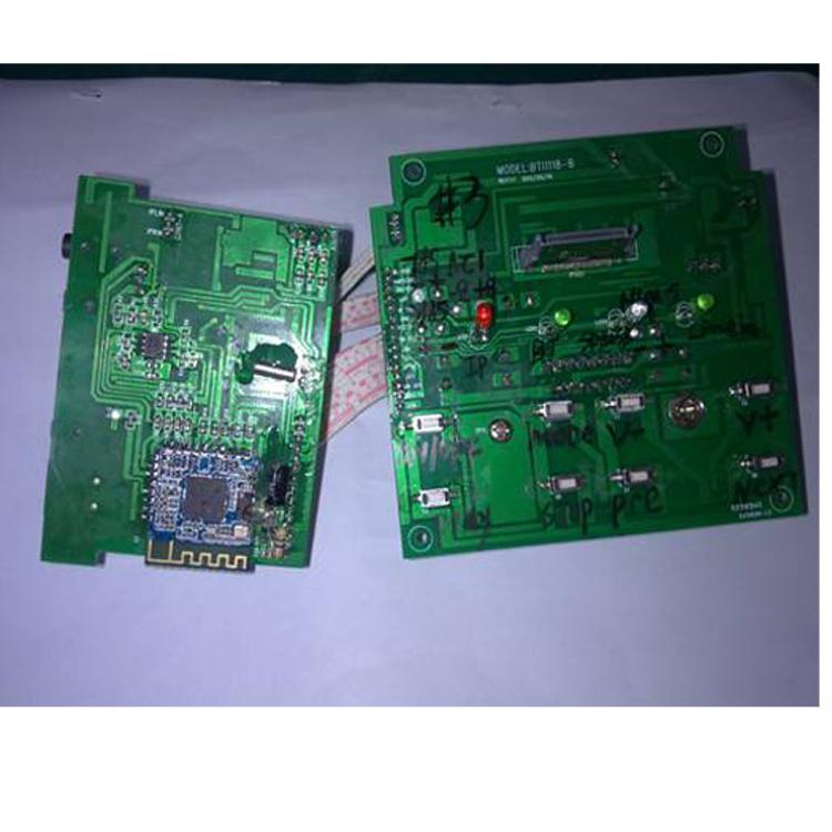 bt音箱方案蓝牙与解码配套方案,line in输入fm光纤