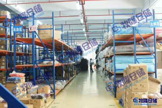 圳工厂仓储货架设计图