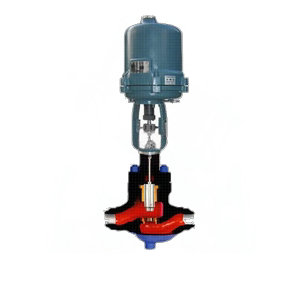 khps电动高压笼式调节阀-不锈钢调节阀图片