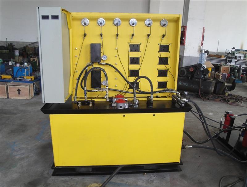 工作台-供应上海液压油缸试验台图片