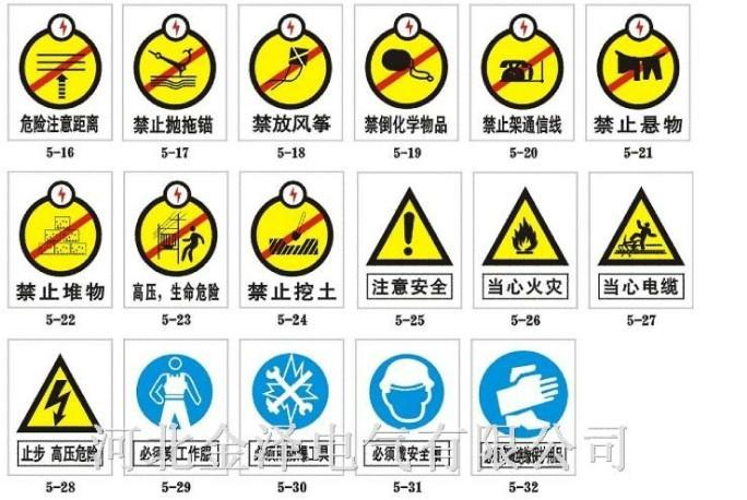 建筑工地安全标识 建筑工地安全宣传 安全文明施工标志牌