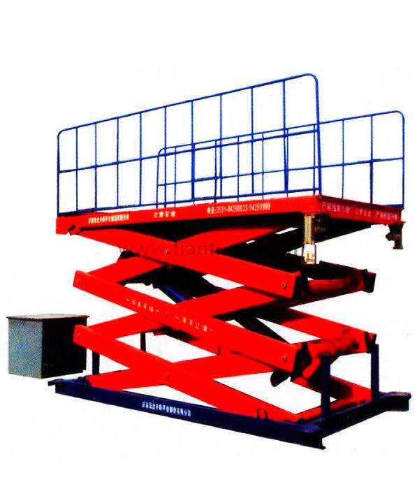 固定升降机 固定升降台 液压升降机升降台 固定剪叉升降台图片