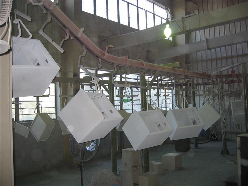 静电涂装生产线设备 静电喷漆设备