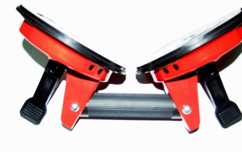 挡风玻璃吸盘 铸铁大双爪活动头吸盘吸力120kg