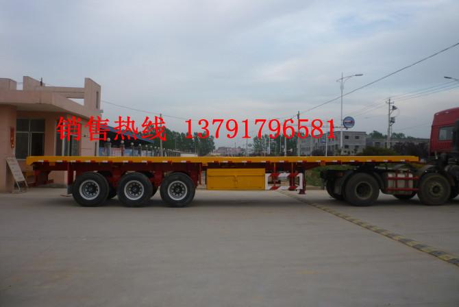 集装箱平板车,40英尺集装箱平板运输车