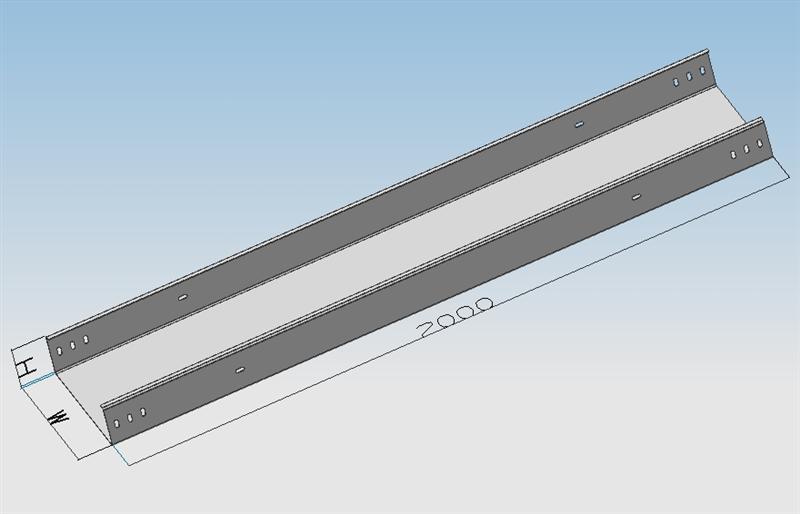 槽式电缆桥架图片