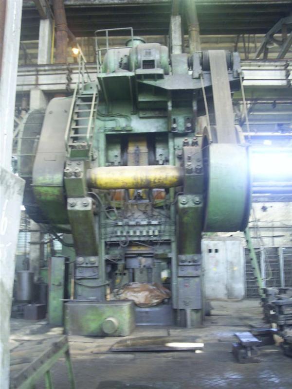 二手热模锻压力机 俄罗斯产4000吨 6300吨