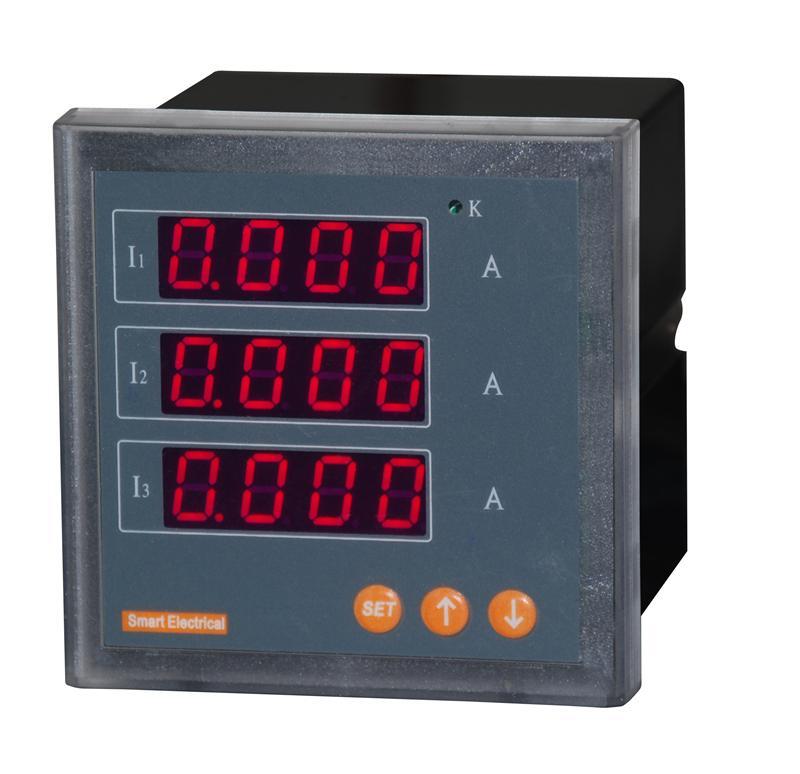 三相电流表 数显 交流电流表 pa194i-dx4 数字表