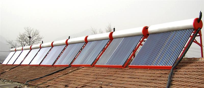别墅30管家用太阳能热水器