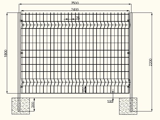 折弯护栏网/三角折弯护栏网