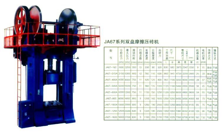 双盘摩擦压力机-淄博博山鼎特机械有限公司-中华机