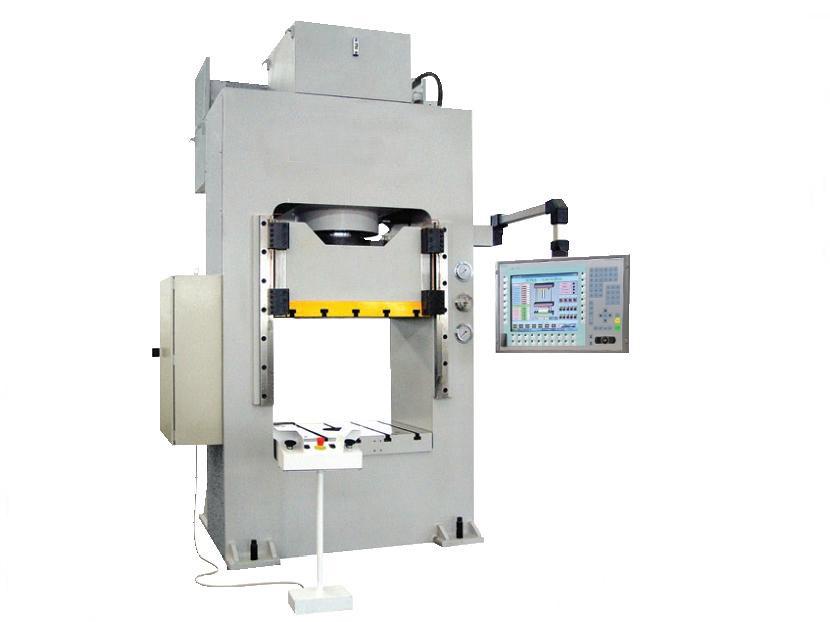 液压机械及部件-供应精密数控液压机-中华机械网图片
