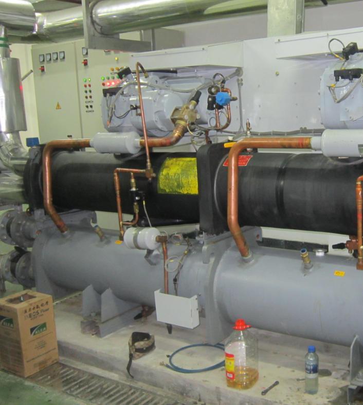开利19xr螺杆冷水机组的特点