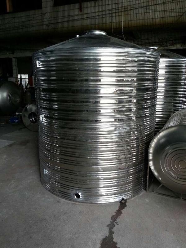 节水设备-供应不锈钢平底尖顶水箱-中华机械网