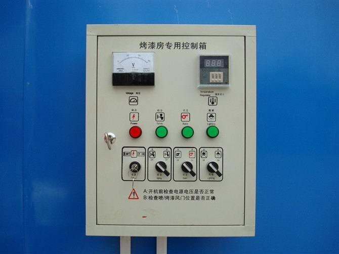 温度控制(调节)器-供应烤漆房专用控制箱 电控柜 全自