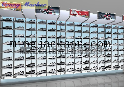 南京皮鞋展柜