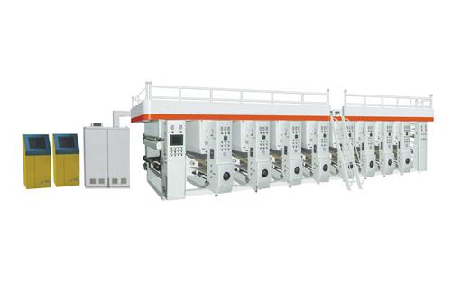 电脑高速凹版印刷机(收放料架内置),电脑高速凹版印刷机价格
