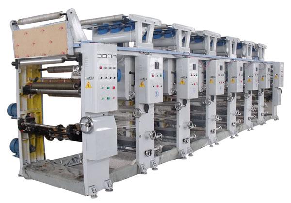 塑料印刷机 高速电脑塑料印刷机