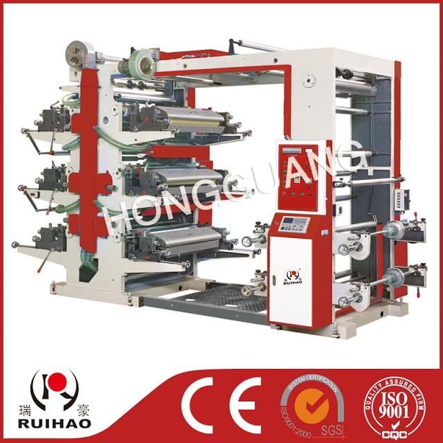 YT-型系列六色柔性凸版印刷机