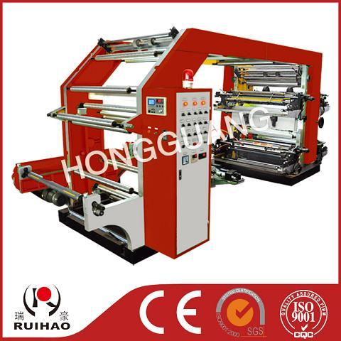 改进高速四色柔性凸版印刷机