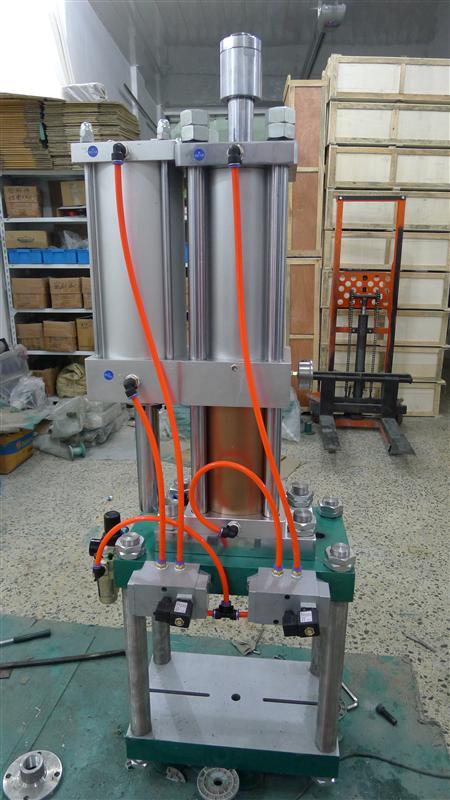 40吨位冲床 气液增压型四柱冲床 框架式冲床 质保2年