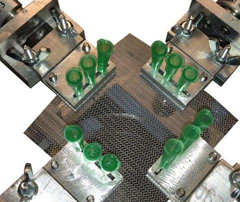 薄膜键盘电路板的构造图