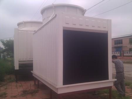 供甘肃兰州方型横流式冷却塔和定西圆型逆流式冷却塔