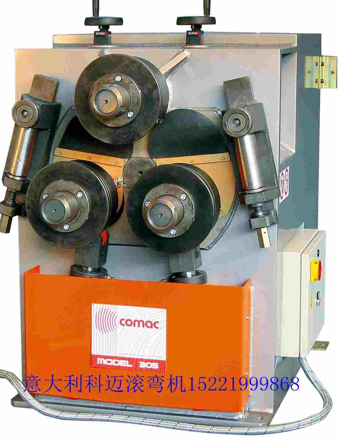 槽钢角钢扁钢工字钢h型钢滚弯机弯弧机滚圆机盘管机弯管机