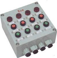 依客思BXK-A4B2D4K2G四钮二表四灯二开关挂式操作箱