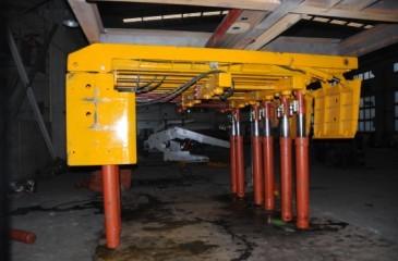 液压机械及部件-供应整体顶梁组合悬移液压支架-中华图片