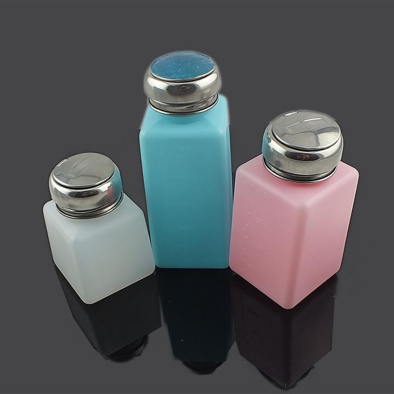 防静电酒精瓶拉盖式多孔头酒精瓶容量器具