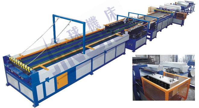 合肥风管生产线 南通风管生产5线 昆山风管生产线 上海风管生产线
