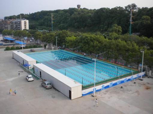 钢结构泳池-中华机械网