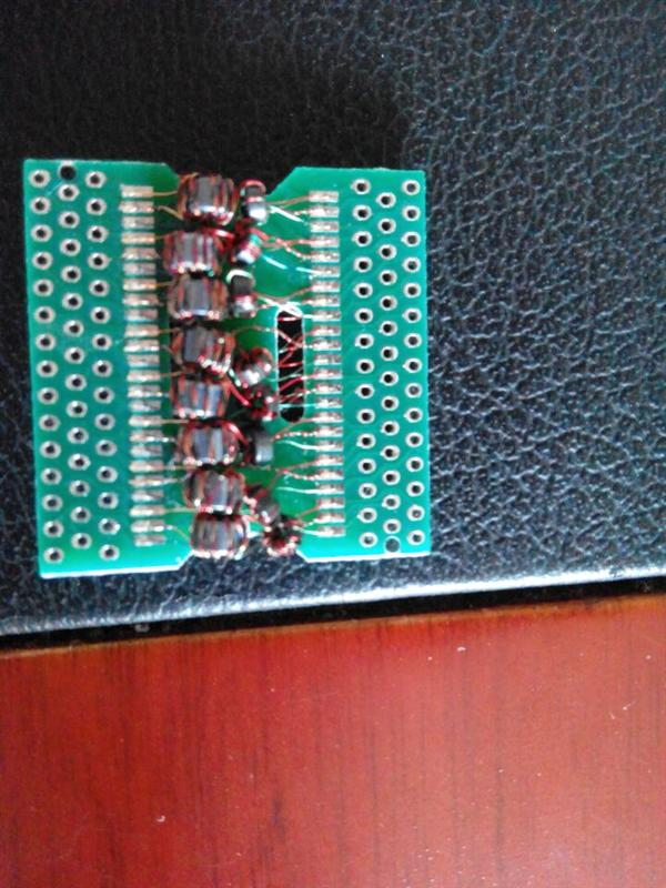集成电路板引线焊接图片