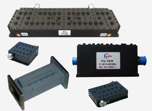 VHF 带通滤波器 频率范围 136-174MHz