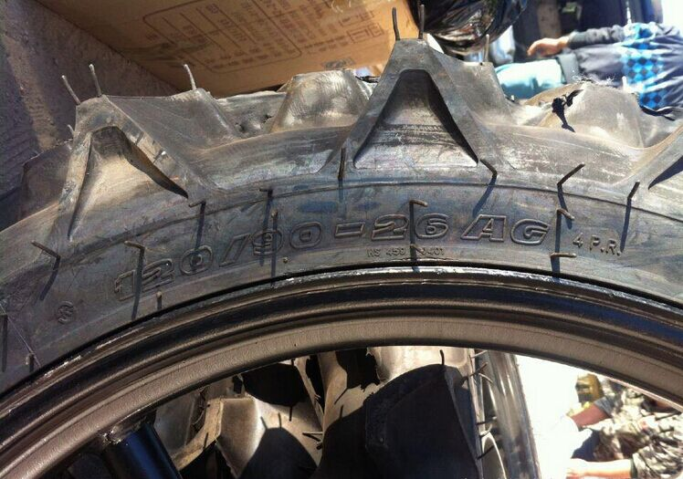 中耕机轮胎120/90-26