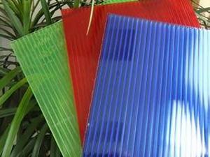 北京福鑫腾达钢构生产销售彩色阳光板