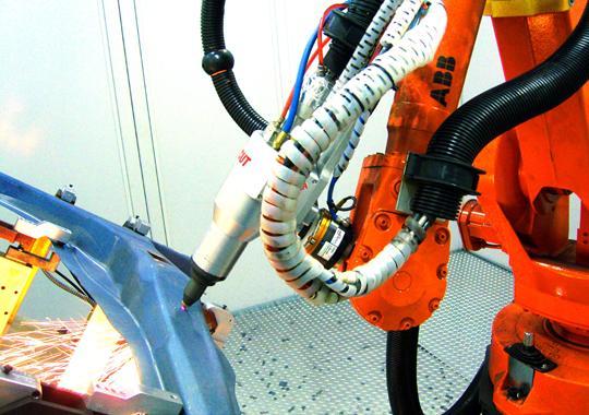 机器人光纤激光切割机系统