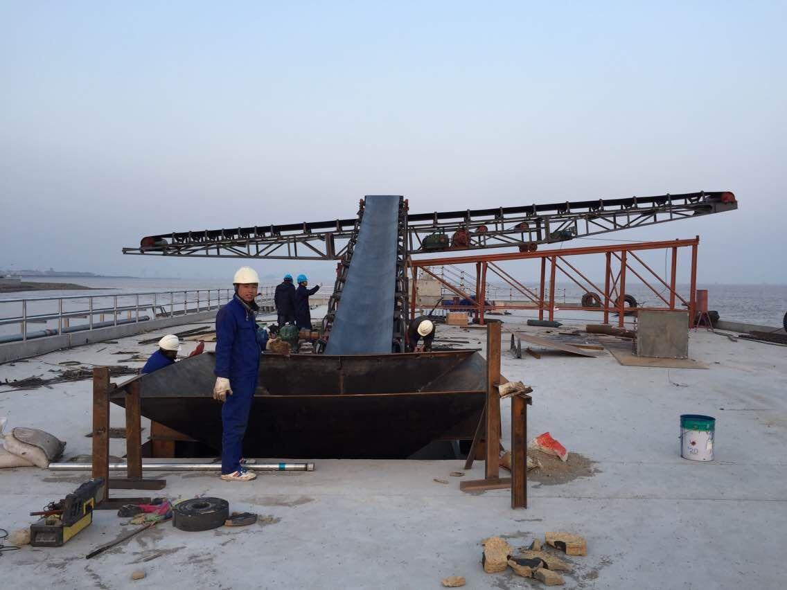 浙江B1200港口伸缩式专用皮带输送机厂家