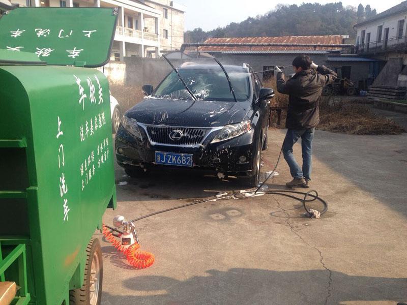 移动汽车清洗上蜡抛光设备