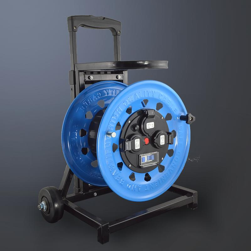 [凯汇]移动电缆盘|绕线盘|卷管器|轮车电缆盘 型号:W-C4A