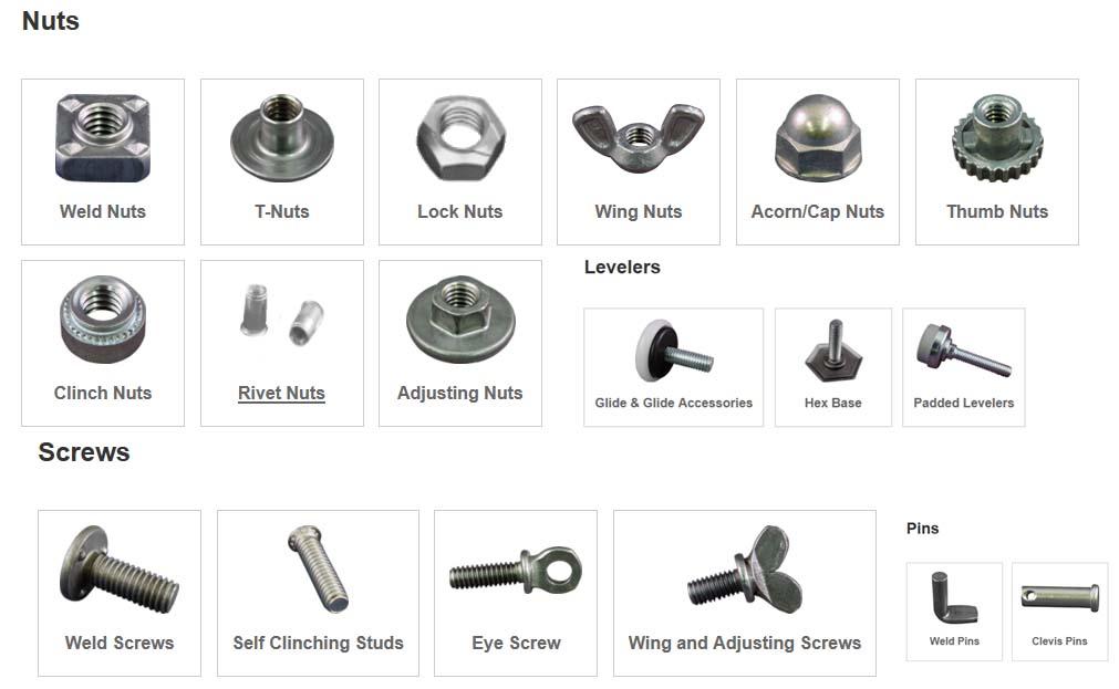 OHIO焊接螺母