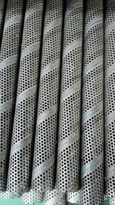 无锡不锈钢螺旋焊接网孔管