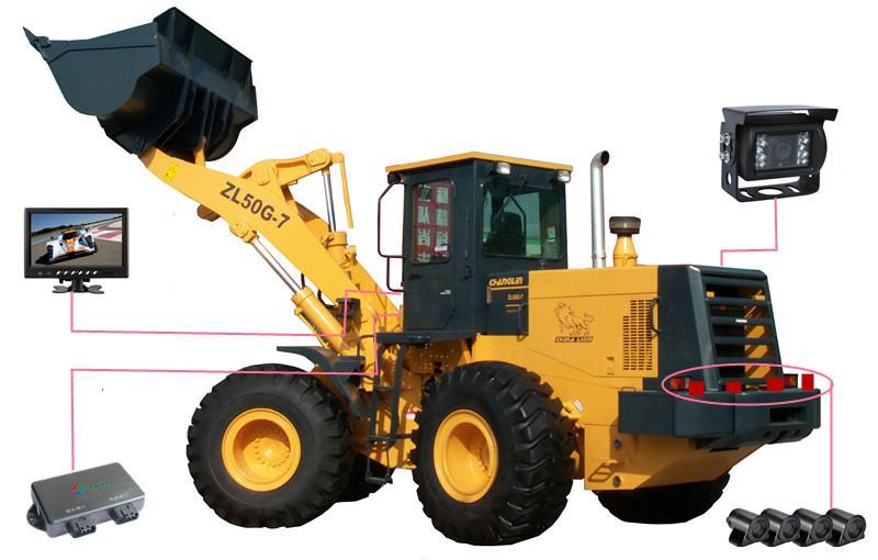工程铲车倒车雷达、工程车可视倒车雷达、工程车倒车雷达品牌